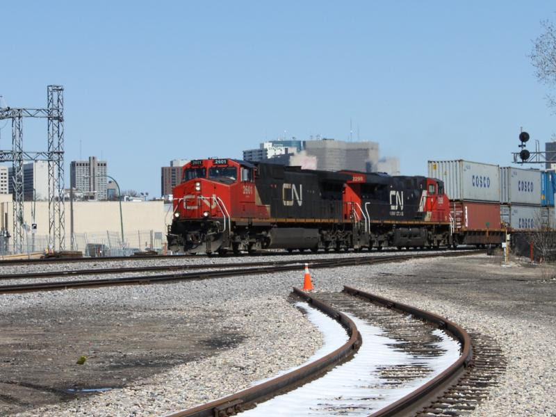 CN 2601 in Winnipeg