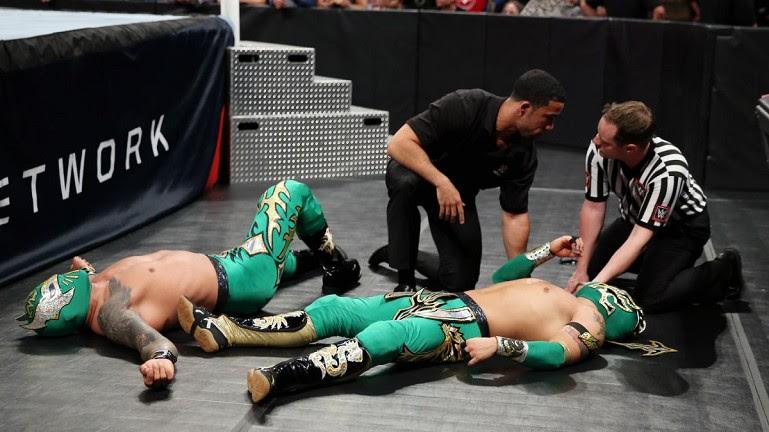 WWE noticias: Kalisto no está lesionado - Neville no cambiará su estilo - ¿Qué pasó después de Raw?