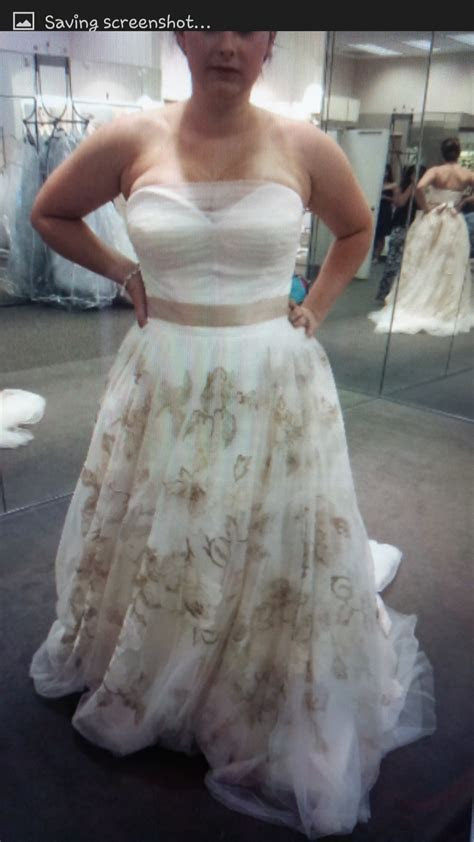"""My Crazy Wedding Dress Story And """"The Dress""""   It's Peachy"""