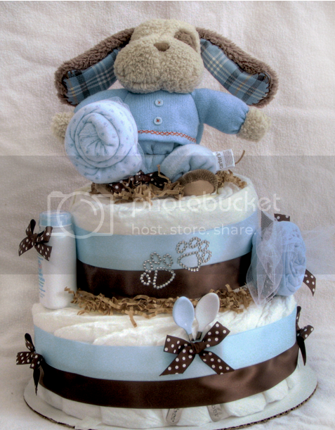Diaper Cake Spa Cake Baby Shower Ideas