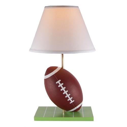 Fringe Lamp Shades Football Sports Table Lamp