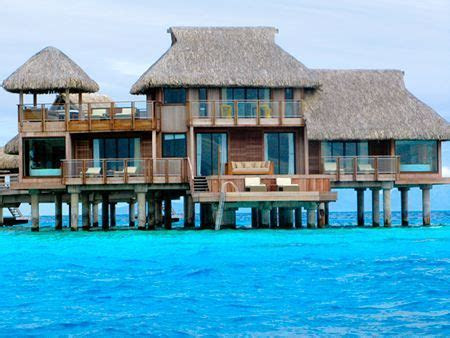 I WILL stay here one day. Dream trip! Hilton Bora Bora's