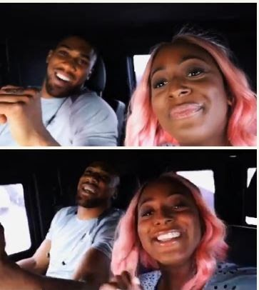 See What DJ Cuppy And Anthony Joshua Were Spotted Doing In Lagos