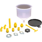 Lisle LS24680 Clear Spill Free Funnel Kit