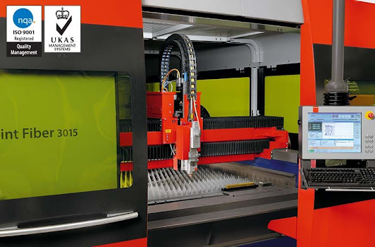 ISO9001 Laser Cutting | Charles Day (Steels) Ltd
