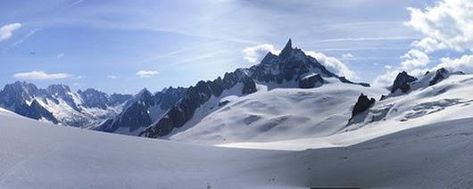 Vallée Blanche Traverse – Chamonix – June 2014 | Phil's Hiking Resources