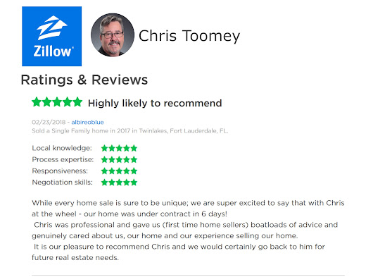 Chris was professional and gave us (first time home sellers) boatloads of advice and genuinely cared about us