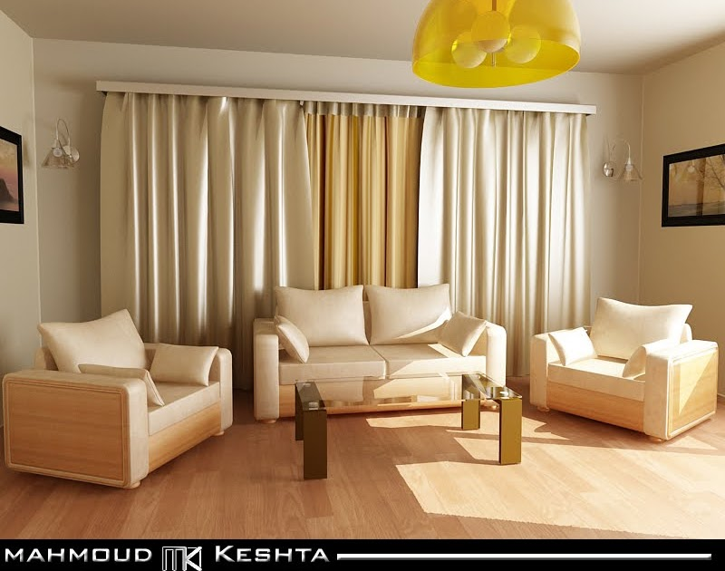 Mahmoud Keshta: Living Room