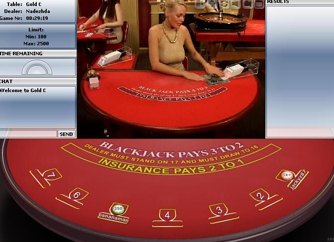 блекджек онлайн казино