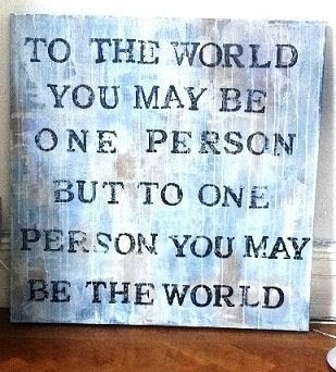 Yoddler To The World You May Be On Person But To One Person You
