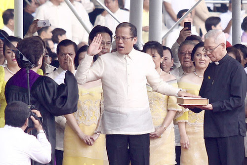 President Noynoy Aquino Inauguration