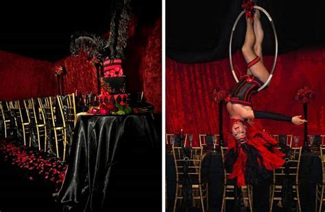 Sugar And Spice Events :: Moulin Rouge Wedding Theme