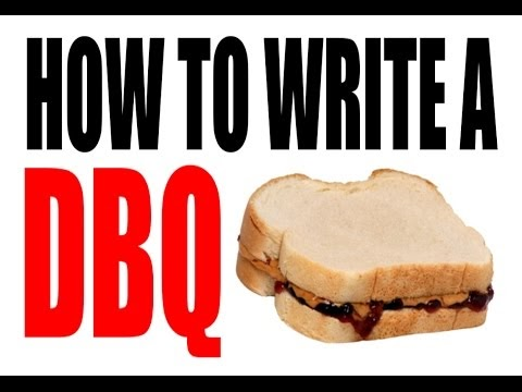tips for writing a 9 dbq essay This database has a link to all thematic and dbq essays for both the global history and  students will review tips to support writing both the dbq and.