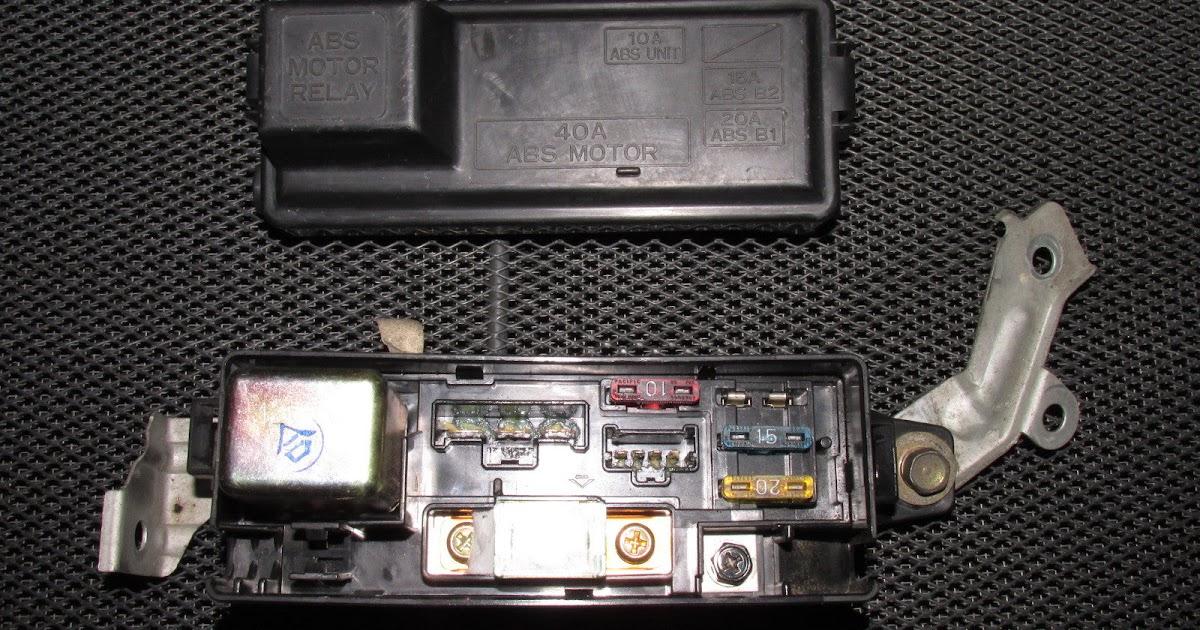 30 94 Acura Integra Fuse Box Diagram