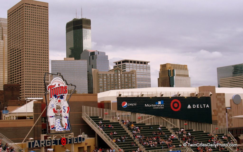 The Minnesota Twins have played half of the 2010 baseball season and I'm still finding my self in awe of the view from inside Target Field. We've been inside the Metrodome for so long, going to the new stadium, I felt like I was visiting from out of state.