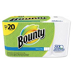 Bounty Paper Towels, Select-A-Size, White, 2-Ply - 12 rolls