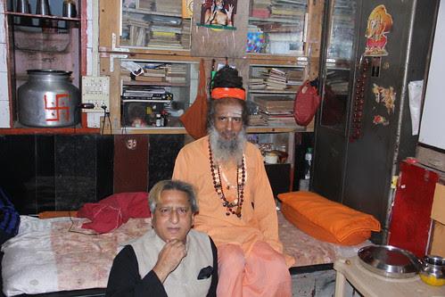 My Naga Sadhu Guru Shri Vijay Giri Maharaj of Juna Akhada by firoze shakir photographerno1