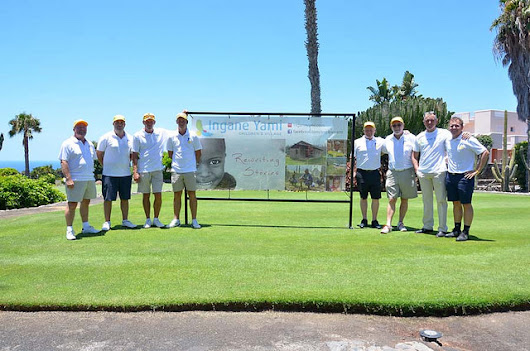 Tenerife Business's Set A Red Hot Record At InganeYami Golf Tournament