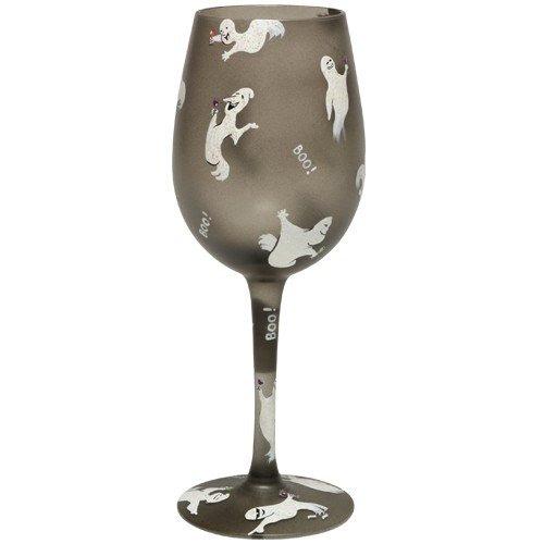 Lolita Love My Wine Ghost Party Wine Glass