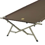 Slumberjack Big Cot Portable Travel & Camping Cot with Carry Bag (2 Pack) by VM Express