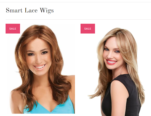 Save 15 % OFF all Jon Renau and Smart Lace Wigs