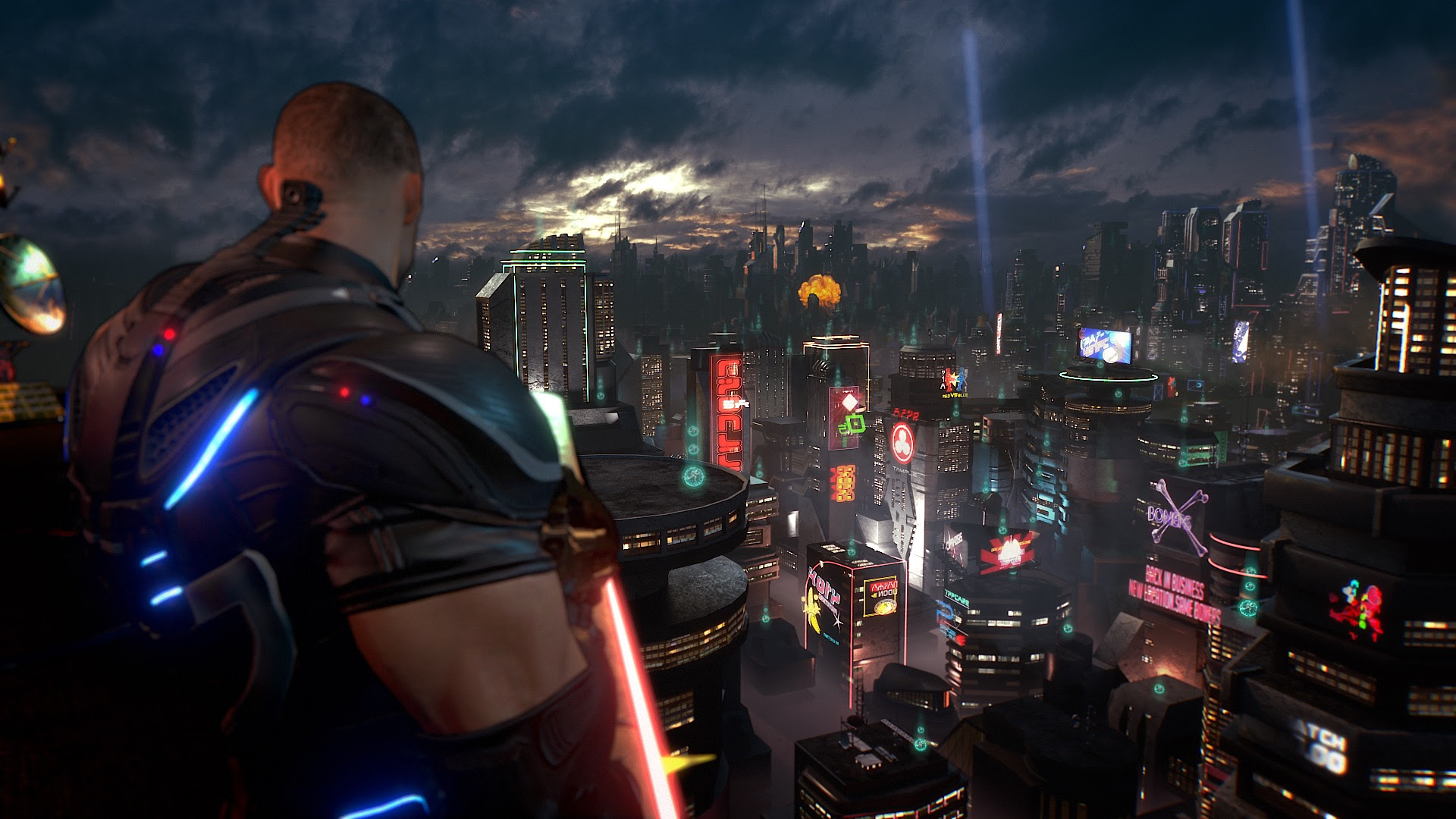 It's 2017 and Crackdown 3 is stuck in 2007 screenshot
