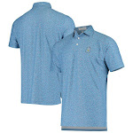 Men's 2020 U.S. Open Peter Millar Blue Cathay Swallows Performance Polo