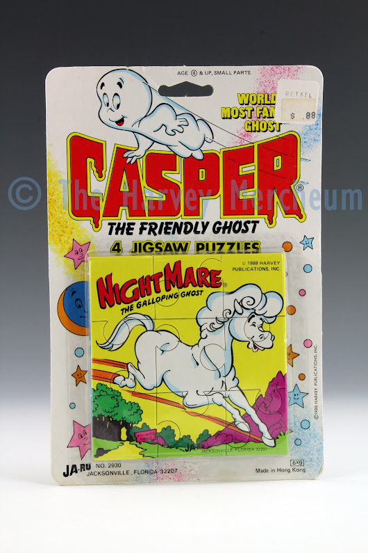 Casper 4 Jigsaw Puzzles, Nightmare variant exhibit posted | The Harvey Mercheum