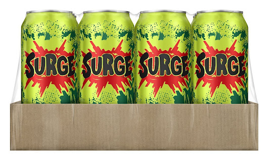 Coca-Cola revives Surge to tap '90s nostalgia via Amazon