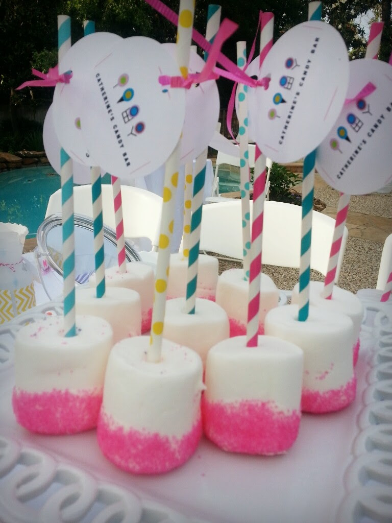 Guest Party Dylans Candy Bar Inspired Spa Birthday The Party Teacher