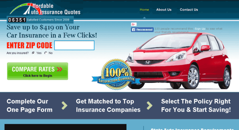 Access affordable-auto-insurance-quotes.net. Affordable ...