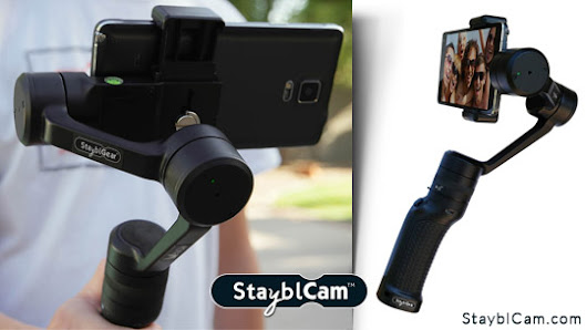 Win a Motorized, 3-Axis Gimbal Stabilizer from StayblGear!