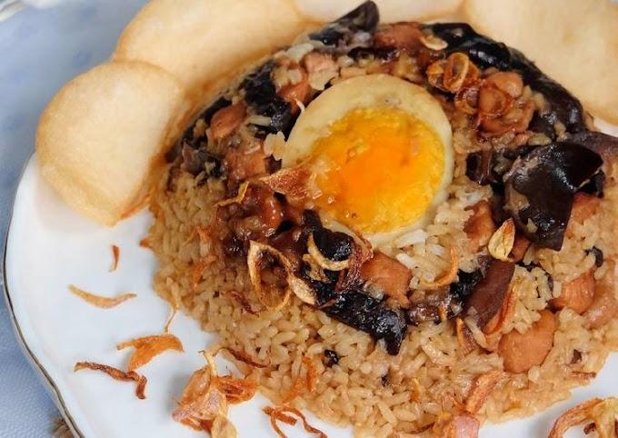 Resep Memasak Nasi Tim Ayam Jamur (Ricecooker) Tanpa Tanding
