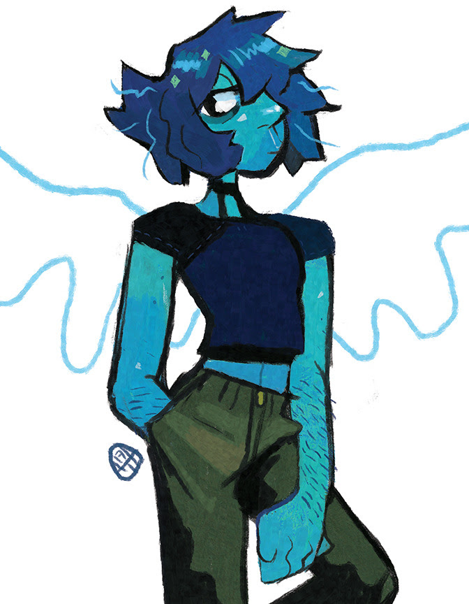 Quick Lapis - a cool gem~~