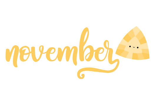 calendar // a triangular topaz for november