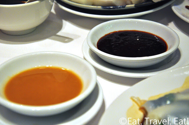 Zen Chinese Cuisine,Hong Kong- Rice Noodle Roll Dipping Sauce
