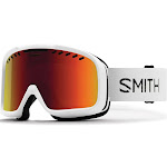 Smith - Project White Snow Goggles / Red Sol-X Mirror Lenses
