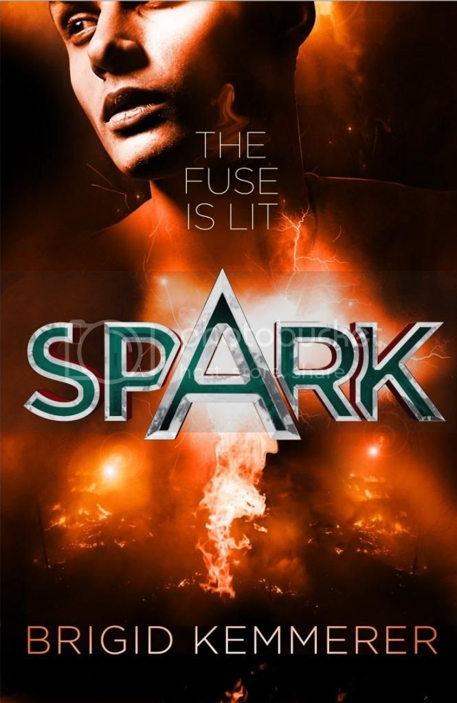 Spark by Brigid Kemmerer UK cover