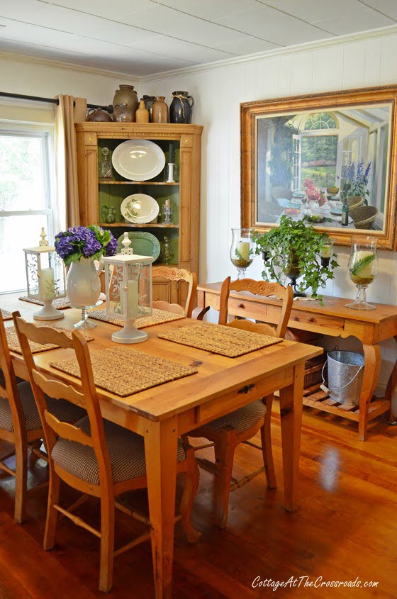 From My Front Porch To Yours-How I Found My Style Sundays-dining room | Cottage at the Crossroads