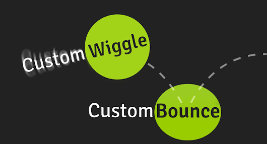 CustomWiggle & CustomBounce for GSAP Animation | GreenSock