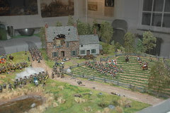 Battle Diorama inside Old Stone House