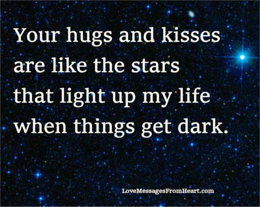 Your Hugs And Kisses Love Messages From The Heart