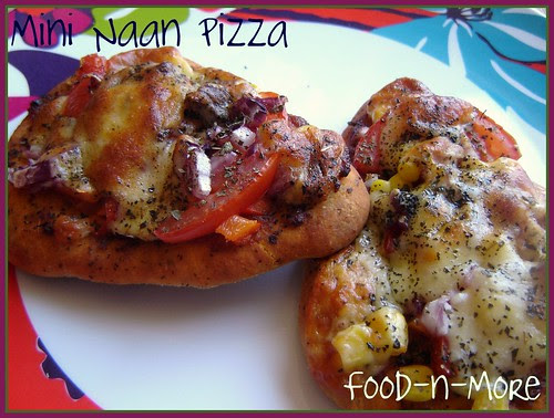Pizza with Mini Naan