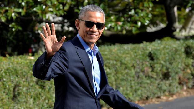 Resultado de imagen para obama se va de la casa blanca