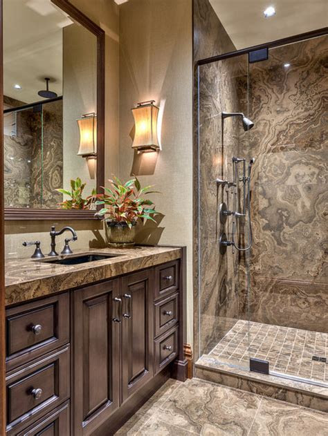 tan brown granite vanity home design ideas pictures