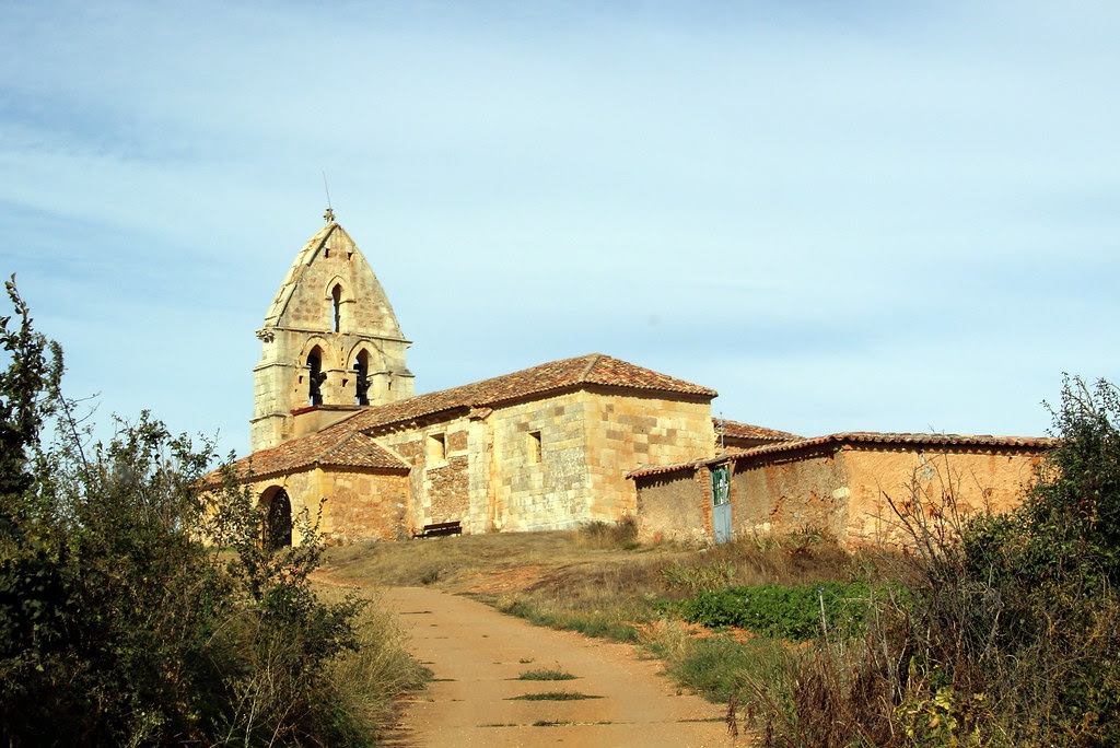 Iglesia románica de San Pedro de Moarves o San Pedro de Ojeda (Palencia)