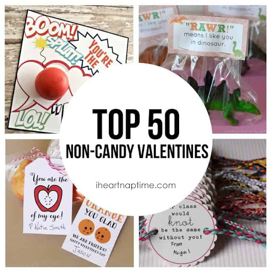 Top 50 non-candy Valentine ideas! - I Heart Nap Time