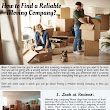 How to Find a Reliable Moving Company | Piktochart Visual Editor