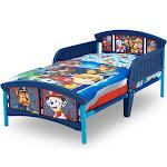 Paw Patrol Plastic Toddler Bed - Nick Jr., Blue