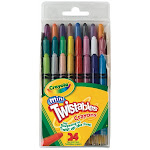 Crayola 52-9724 Mini Twistables Crayons 24/Pkg